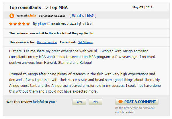Top consultants Top MBA