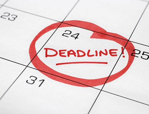 Late Deadlines for September 2018 / January 2019