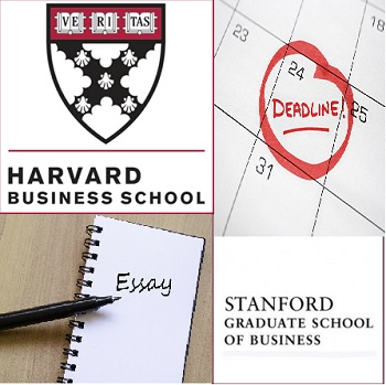 HBS-Stanford Deadlines-Essays