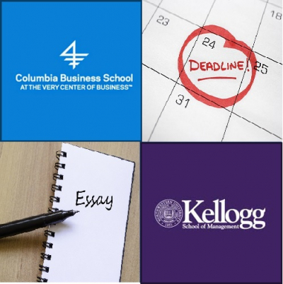 Columbia-Kellogg Deadlines-Essays
